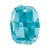 Swarovski Pendant 6685 Graphic 28mm Aquamarine